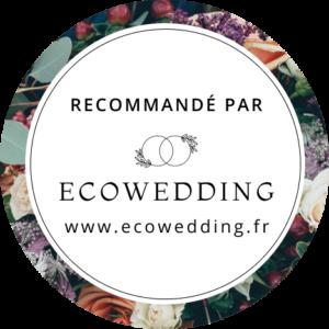 Recommandé par ecowedding blog mariage