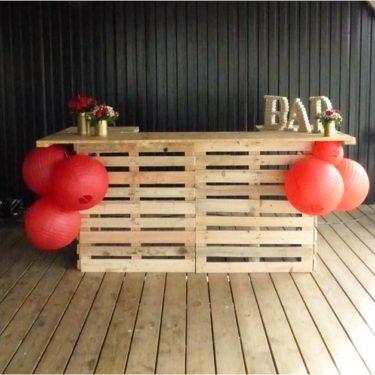 Bar en palette