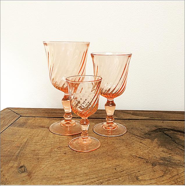 Atelier d'Hiris verre rosé