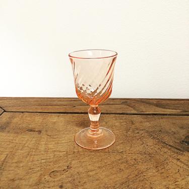verres rosés PM