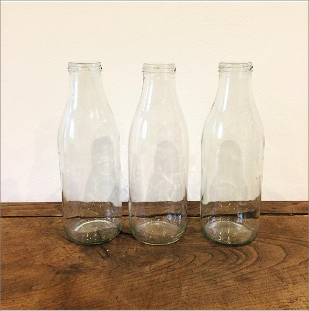Lot de 3 bouteilles de récup'