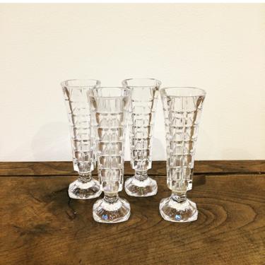 Lot de 4 vases