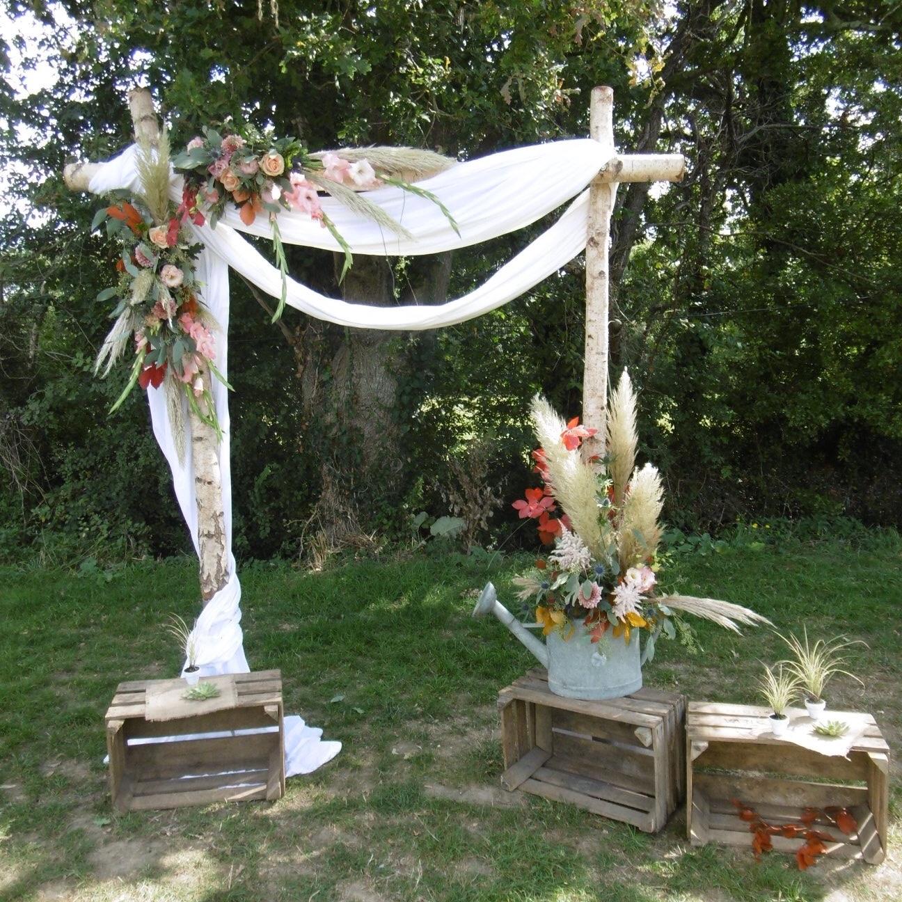 Arche en Bois de Bouleau