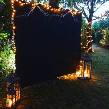 Photobooth Fond Noir
