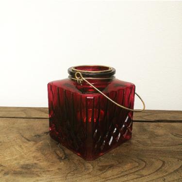 Photophore rouge Bordeaux