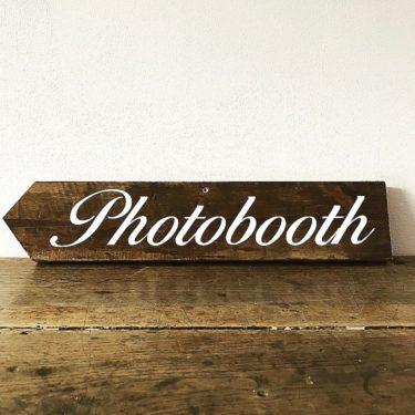 Panneau Photobooth gauche