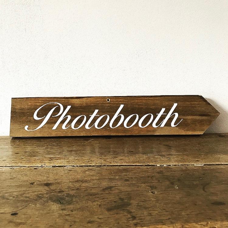 Panneau Photobooth droite