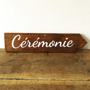 "Panneau ""Cérémonie"" droite"