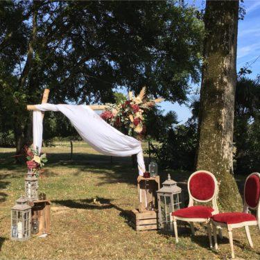 Ensemble Arche en Bois de Bouleau