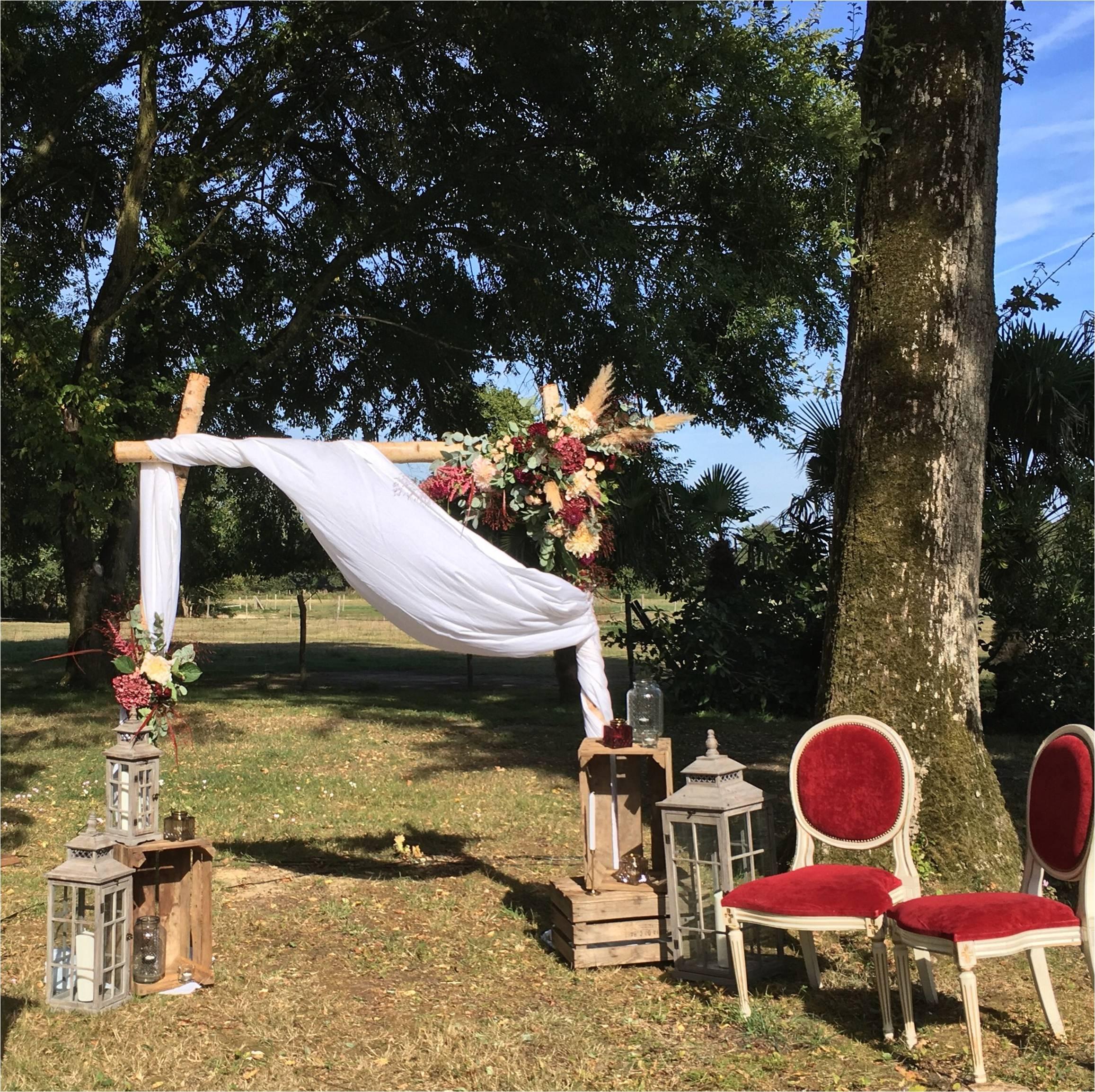 Lanterne GM Arche en Bois de Bouleau