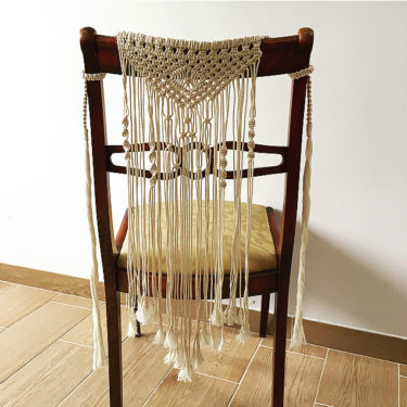 Duo Décor De Chaise Macramé