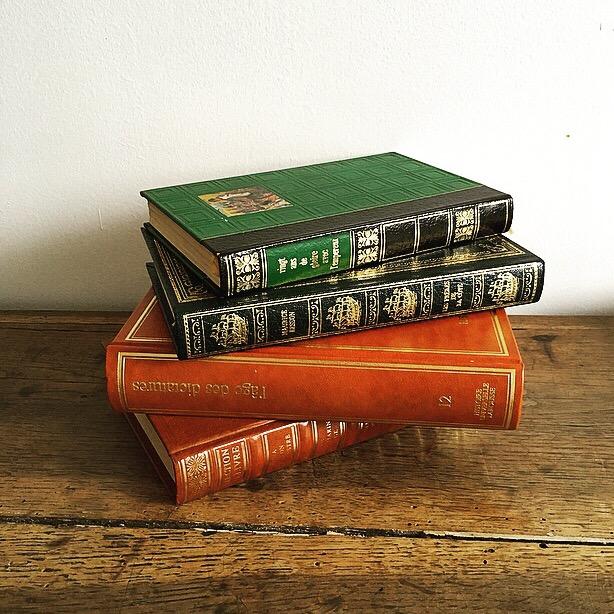 Lot de 4 livres anciens