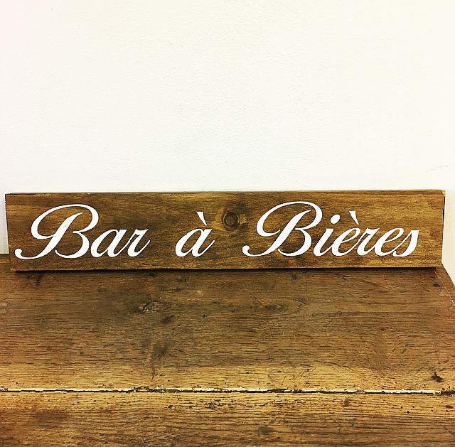 Panneau Bar à Bière
