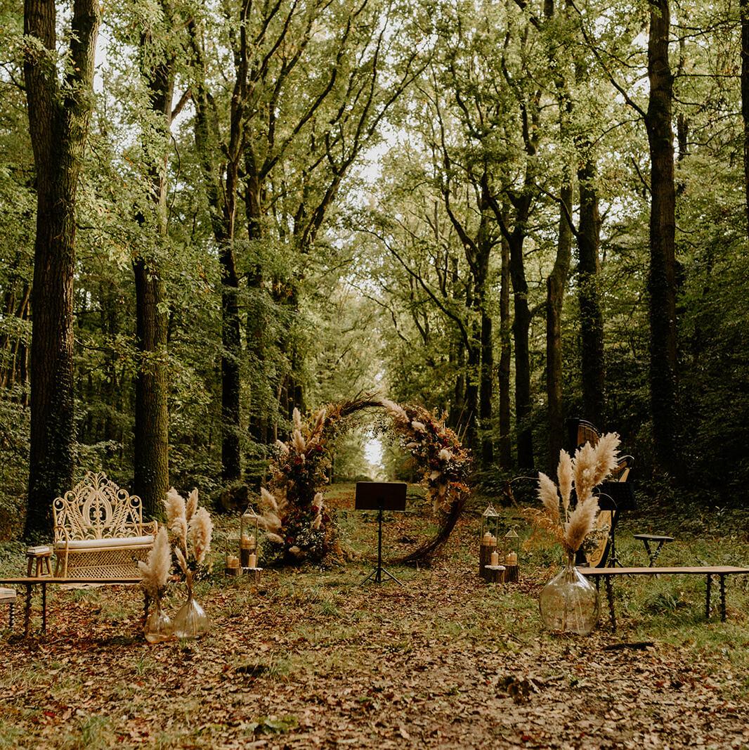 Arche Ronde et Bois