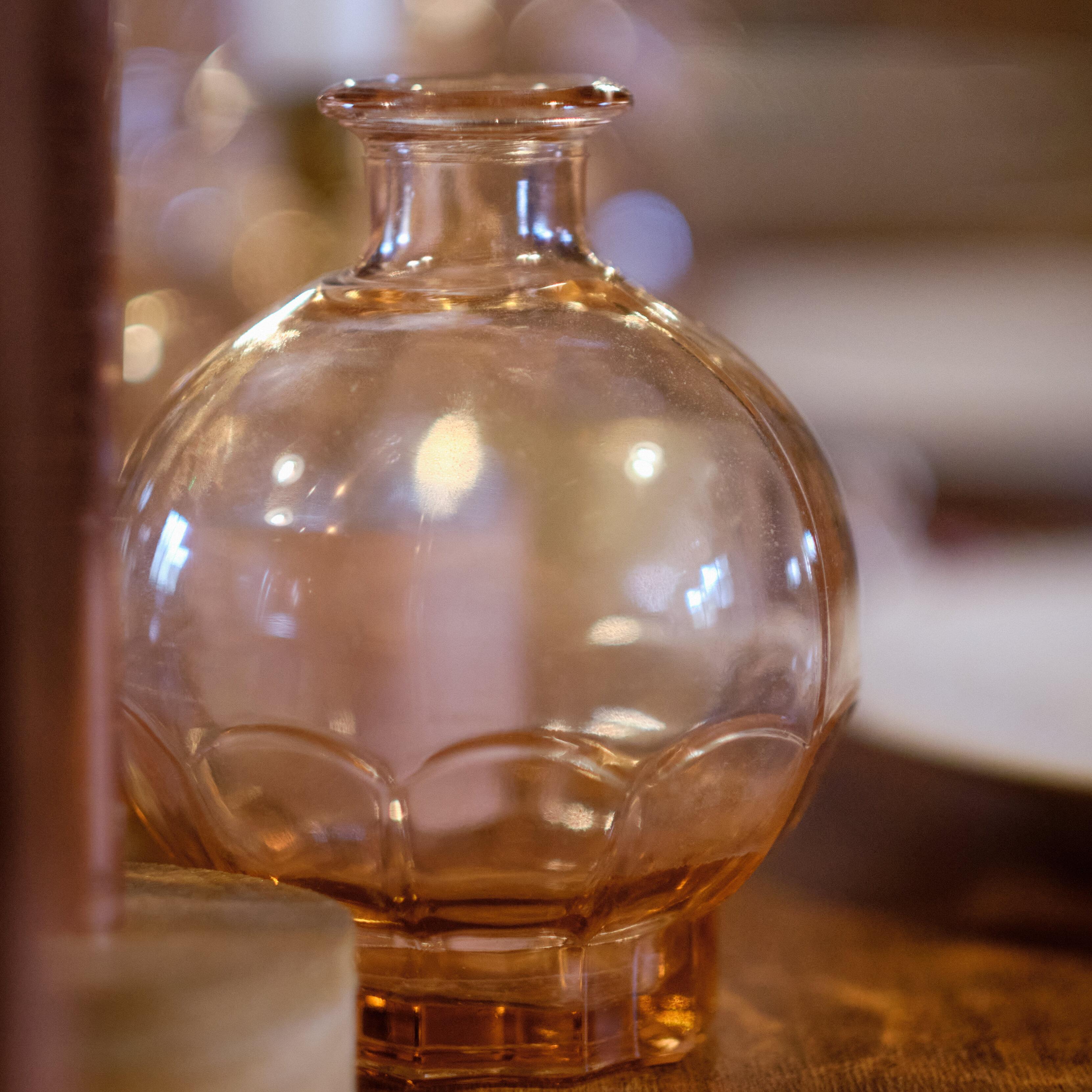 Vase Rosé Boule GM